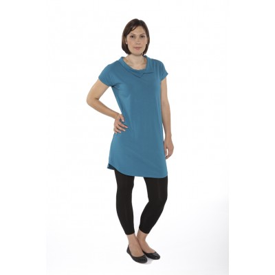 'Oh Jackie' Cap Sleeve Collared Tunic